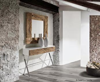 Casanova Gandía recibidoar madera natural