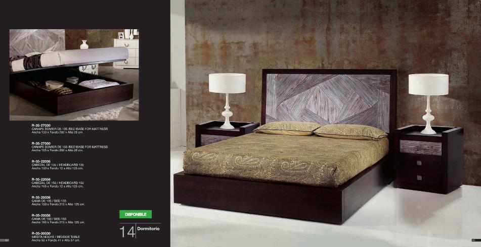 Dormitorio página 47 colección Evassion