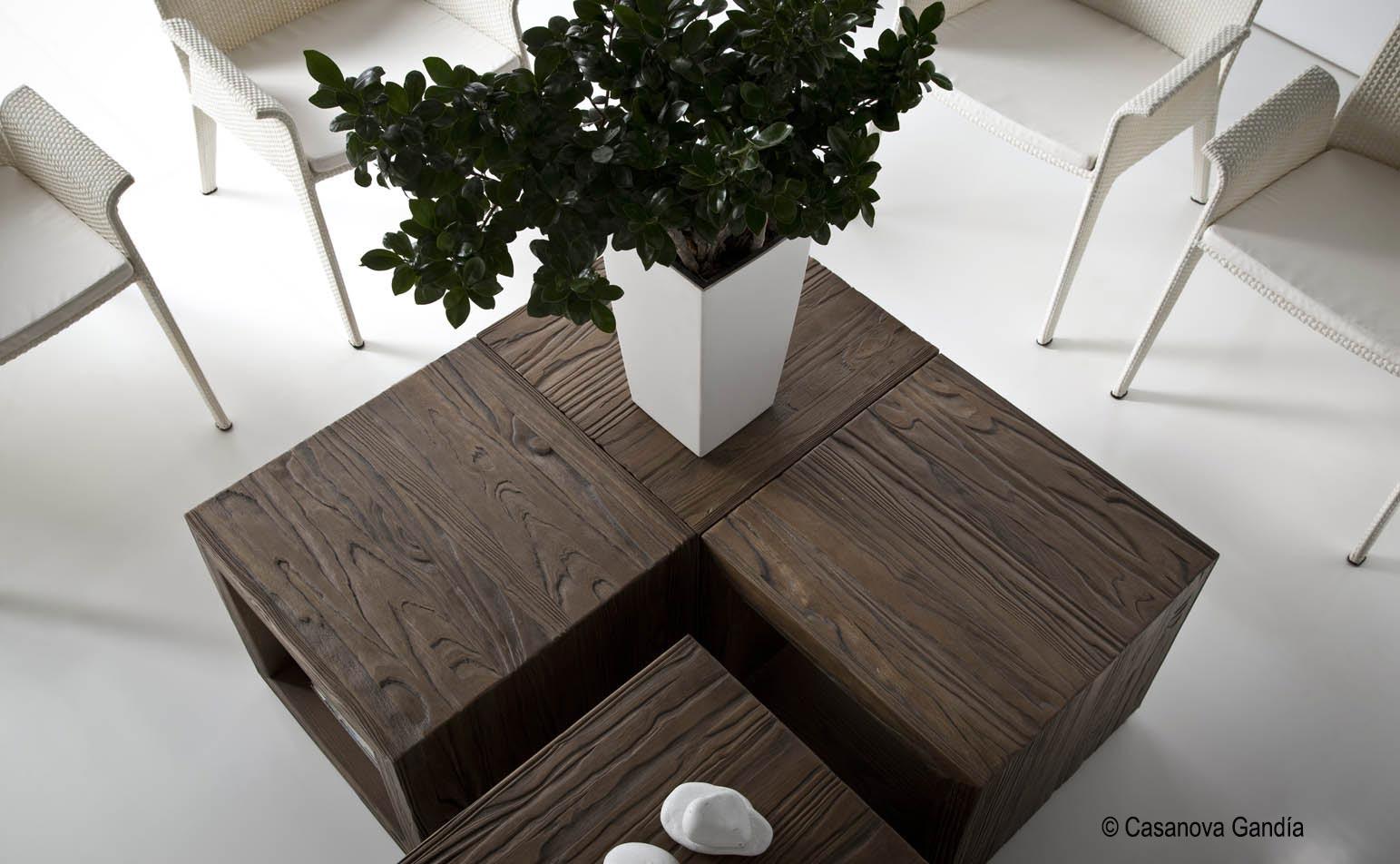 Mesas de centro colección Evolución