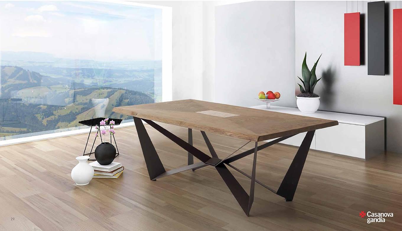 Mesa de comedor madera maciza mesa comedor de madera maciza y acero ikea mesa comedor madera - Mesas de comedor de madera maciza ...