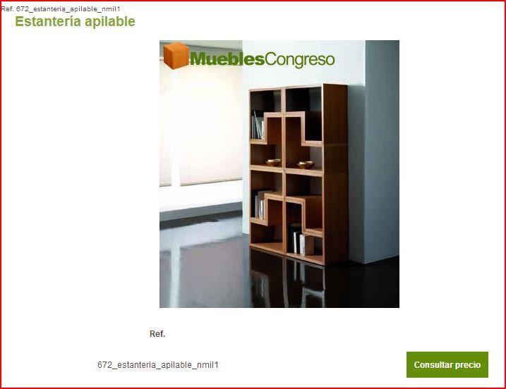 Estanterias apilables online de madera - Muebles casanova catalogo ...
