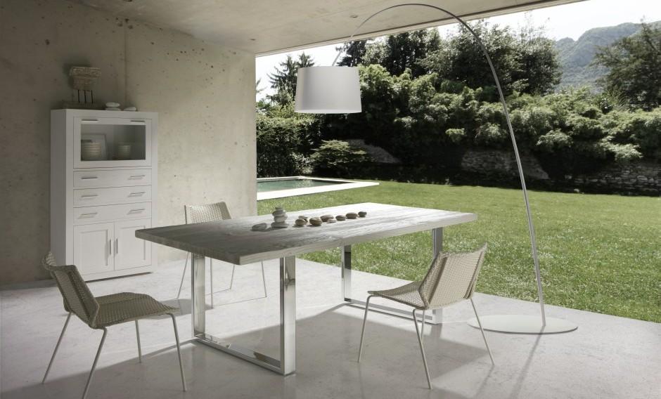 Muebles para el exterior para el porche for Mesas de comedor para exterior