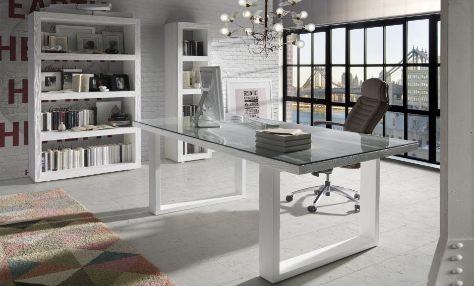 La tarea nada f cil de decorar el despacho de tu casa for Despacho moderno en casa